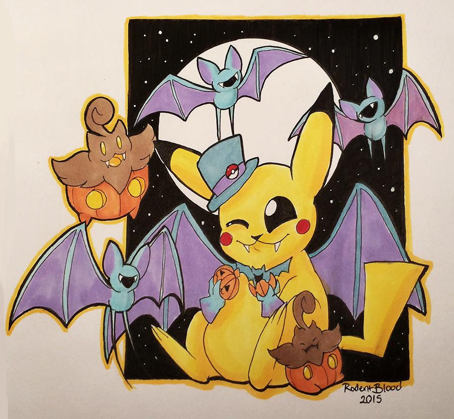 Vampire Bats and Pumpkins