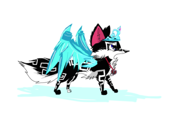 Junior Daisy Fox/ full body