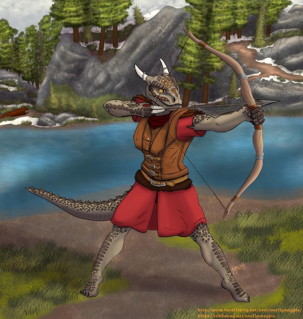 Kai'Nazari - Argonian Archery