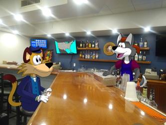 Evening At The Bar