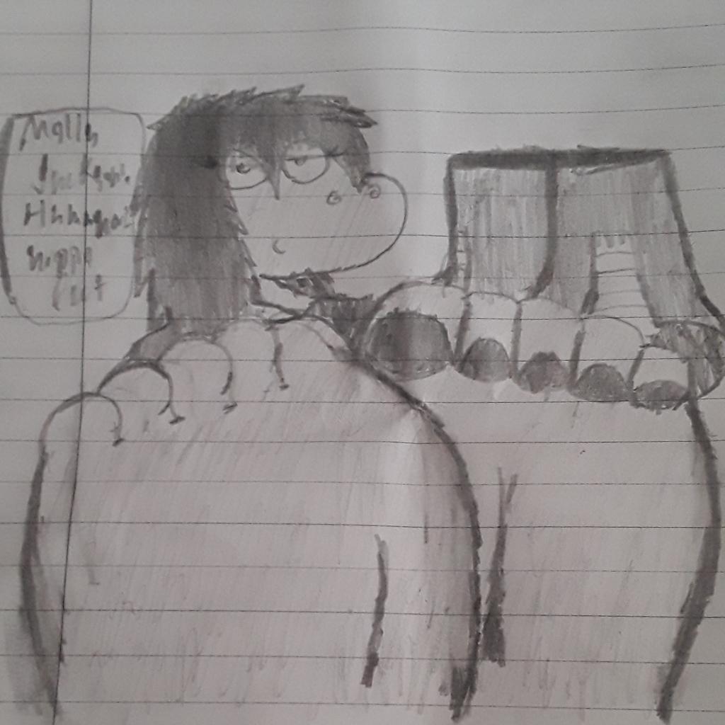 Molly Jackson's Humanoid hippo feet