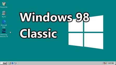 Windows 98 Classic (Concept/Animation)