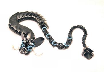 Black and GITD Blue Dragon - 24 Inch