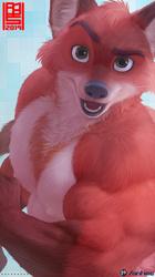 Hunky Fox