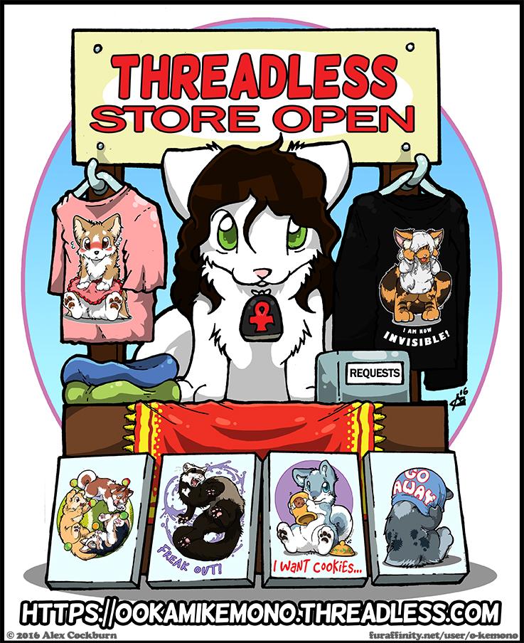 Threadless Store OPEN!