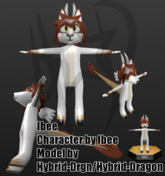 Ibee - Low-Poly Model