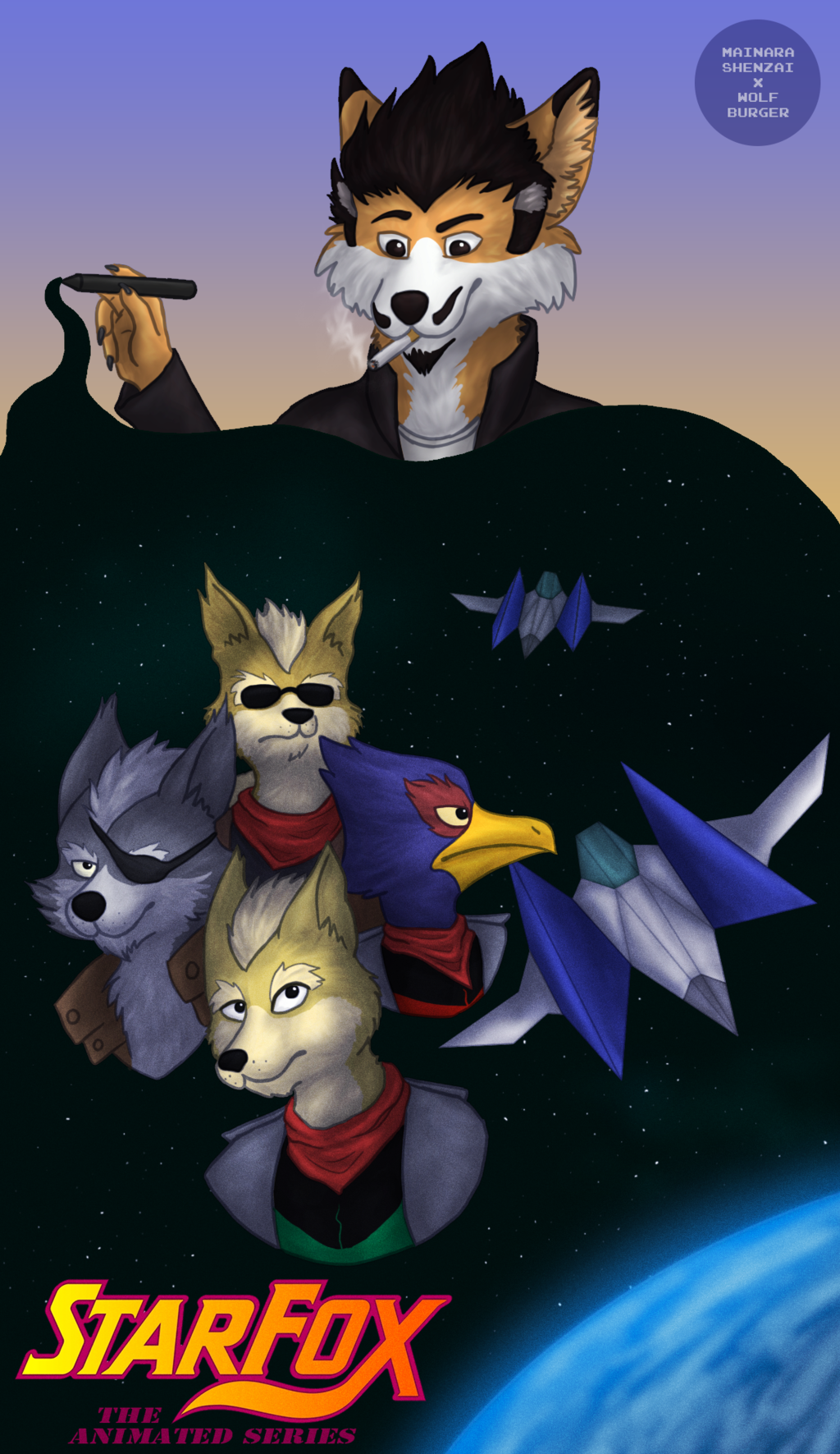 """Featured image: [COLLAB][GIFT] """"Star Phox"""""""