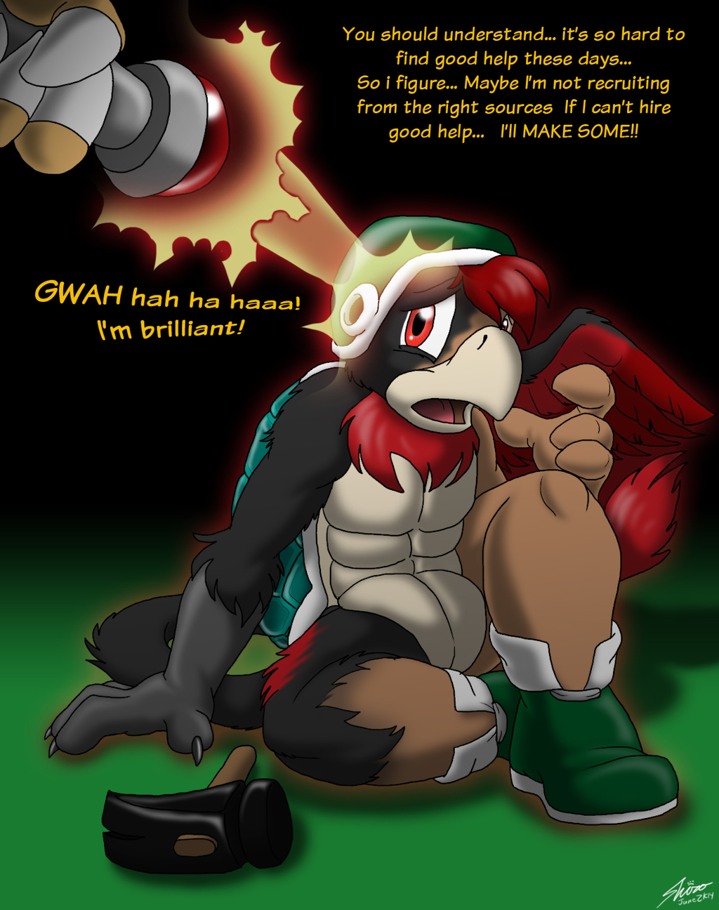 Bowser's Newest Recruit (by Cat-monk Shiro)