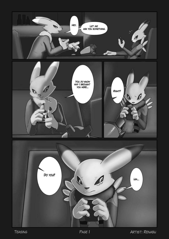 Teasing Page 1
