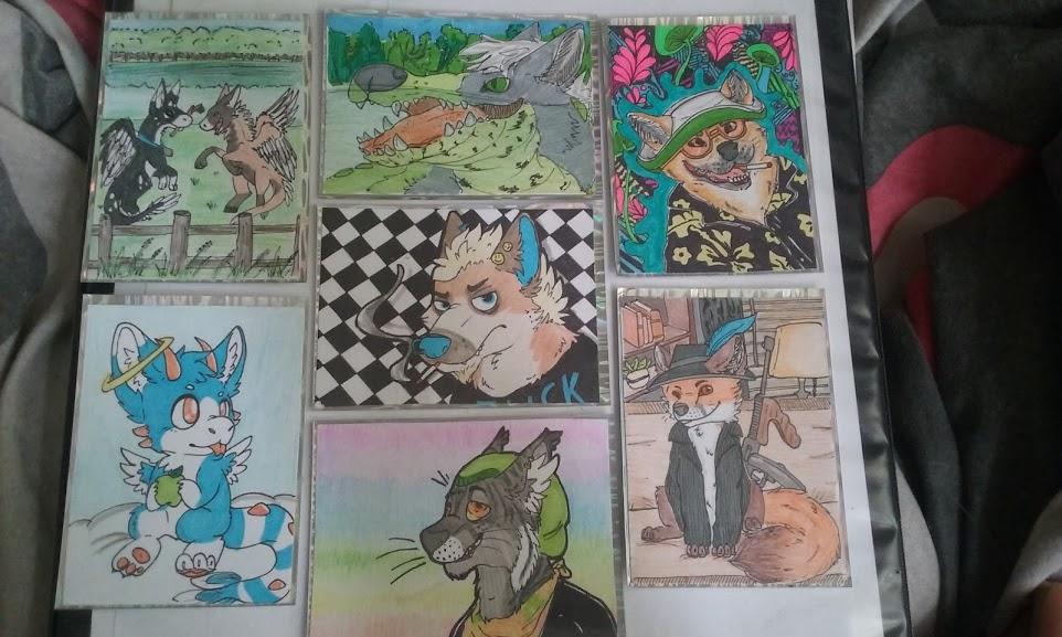 Most recent image: Art Cards Set 1