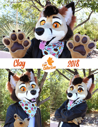 Clay Foxyote- Partial