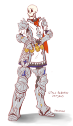 Papyrus as FFXIV Paladin (No Weapon version)