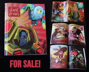 Dani Draws - Art Book for sale