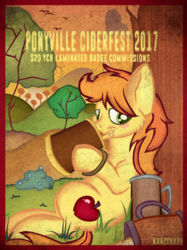 Ponyville Ciderfest 2017 YCH Badge Commissions