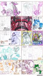 Sketchbook 74 - Part 6