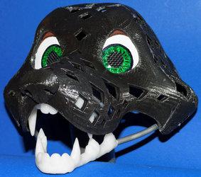 3d-printed fursuit head-base v25 - Canine Toon