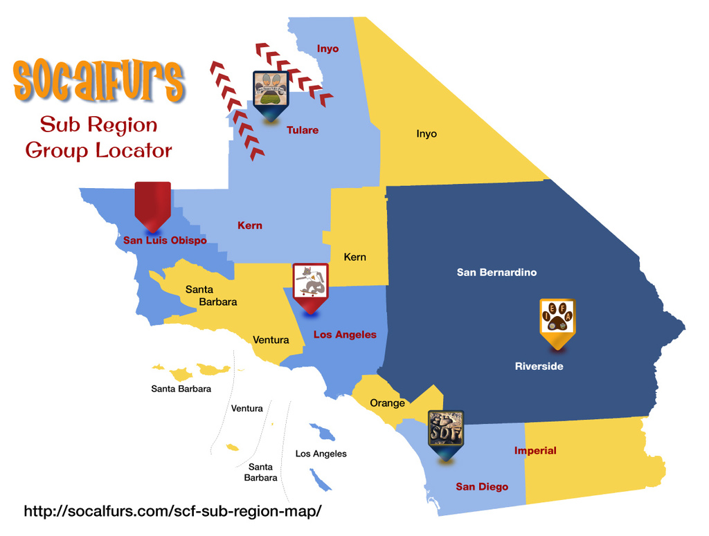 Most recent image: SoCalFurs Regional Map