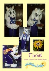 Toriel fursuit