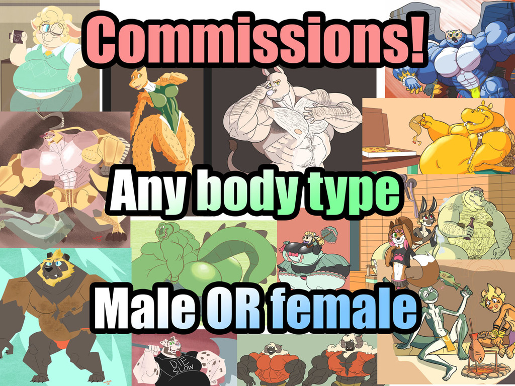 Commission Flyer!!!!!