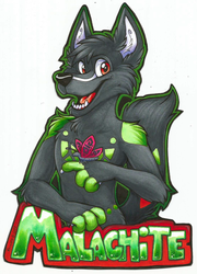 Malachite Badge