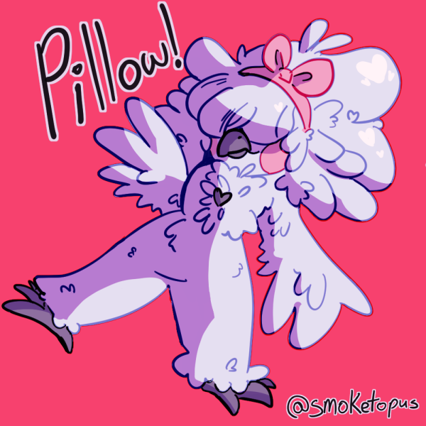 Artfight - Pillow!