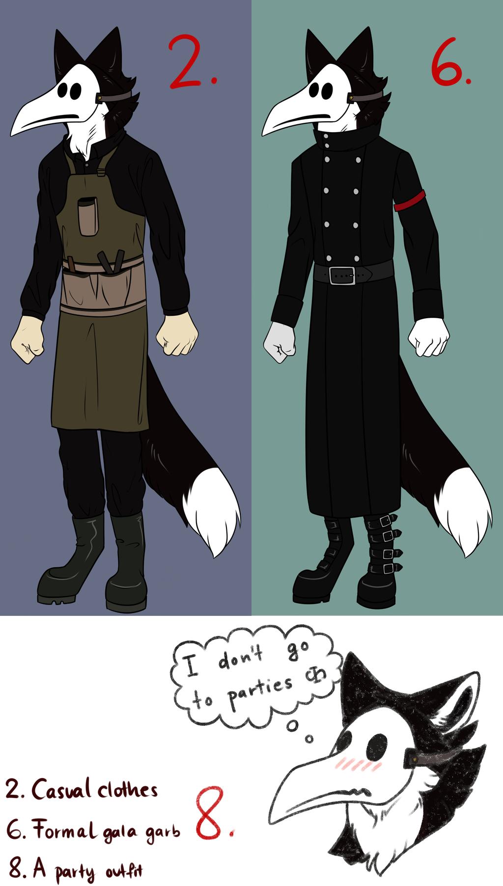 The Character Wardrobe Meme
