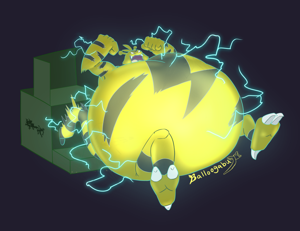 Most recent image: The Greedy Electabuzz