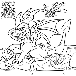 Spyro and Sparx +WIP+