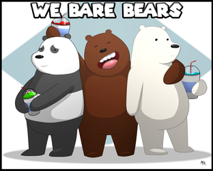We Bare Bear Brothers