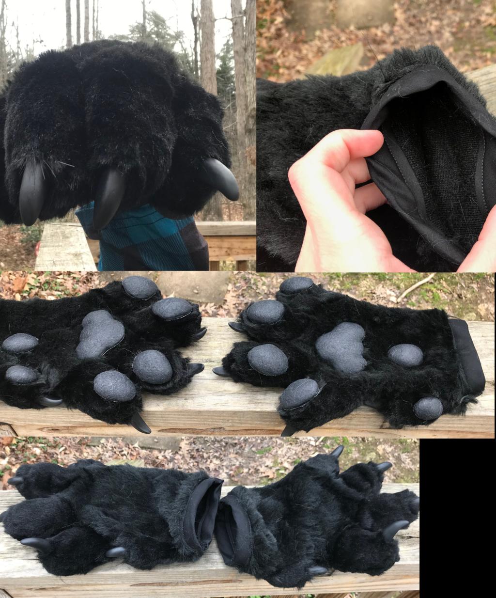 Black Handpaws