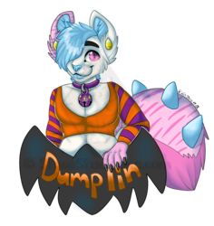 Dumplin Halloween Badge CBE