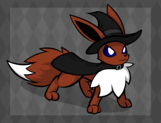 Witch Eevee 1/2 (Light Version)