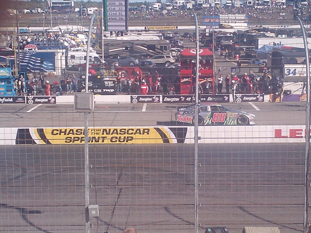 Green Flag Pit stops 3