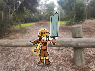 Sword of a Hero!