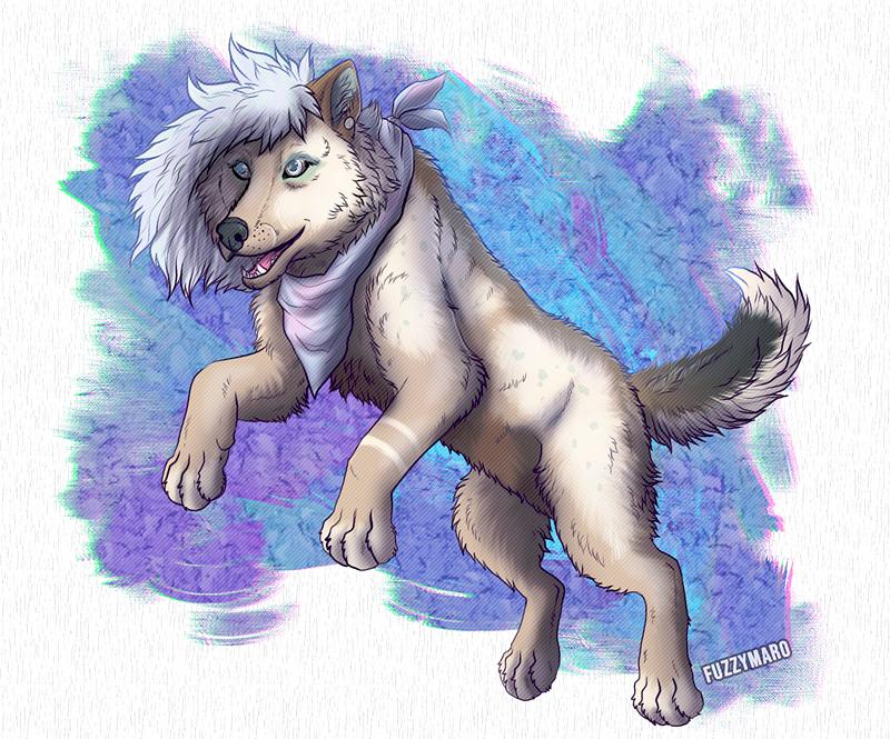 Pastel wolfy