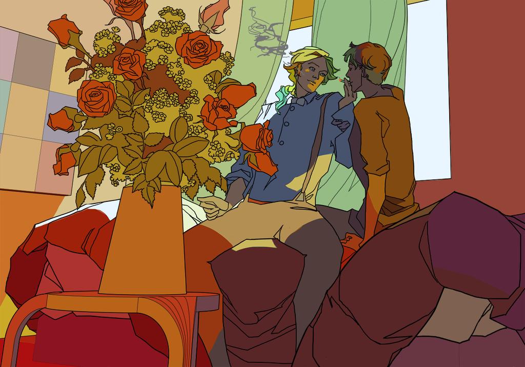 Mordan and Seth [illustration]