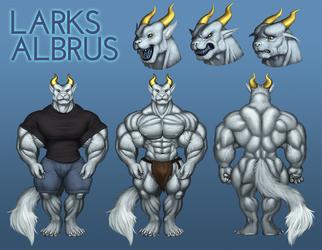 Larks Albrus Reference Sheet