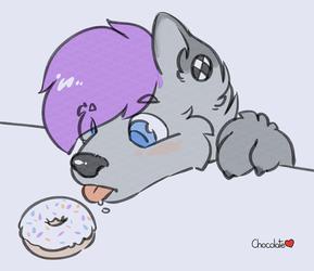Nik wants a Donut