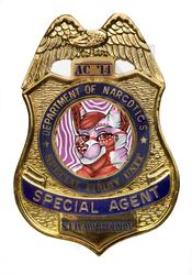 Strawberry Sundae Agent Badge Commission