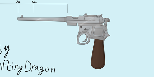 HRE TK-4 Cavalry Pistol