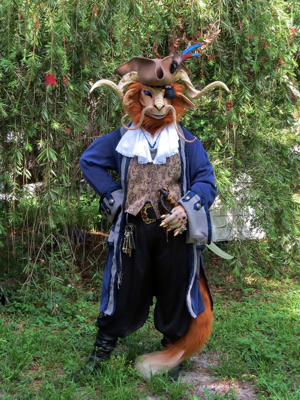 Pirate Costume Test