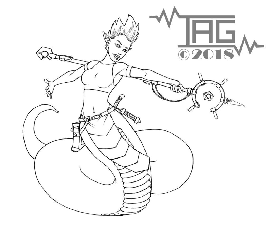 Lamia Space Wizard