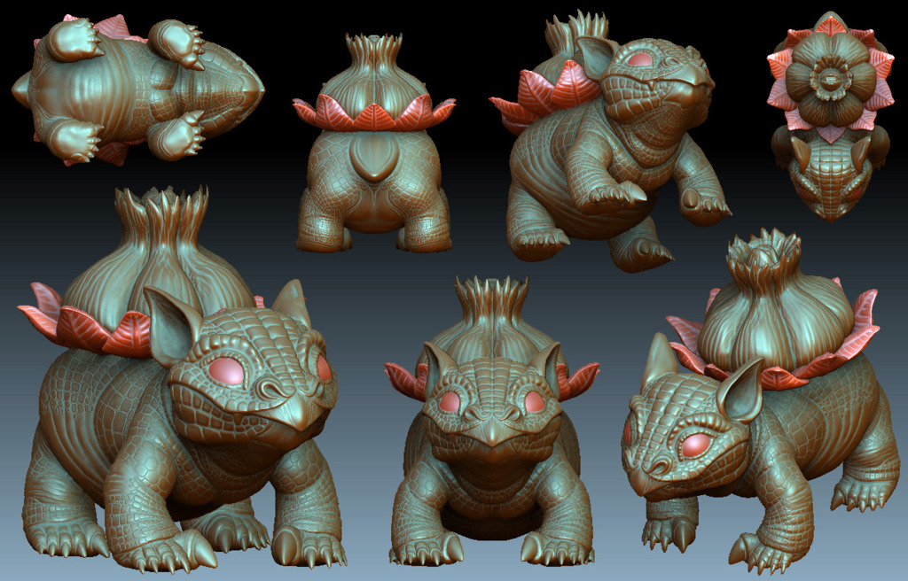 Bulbasaur - Full sculpt