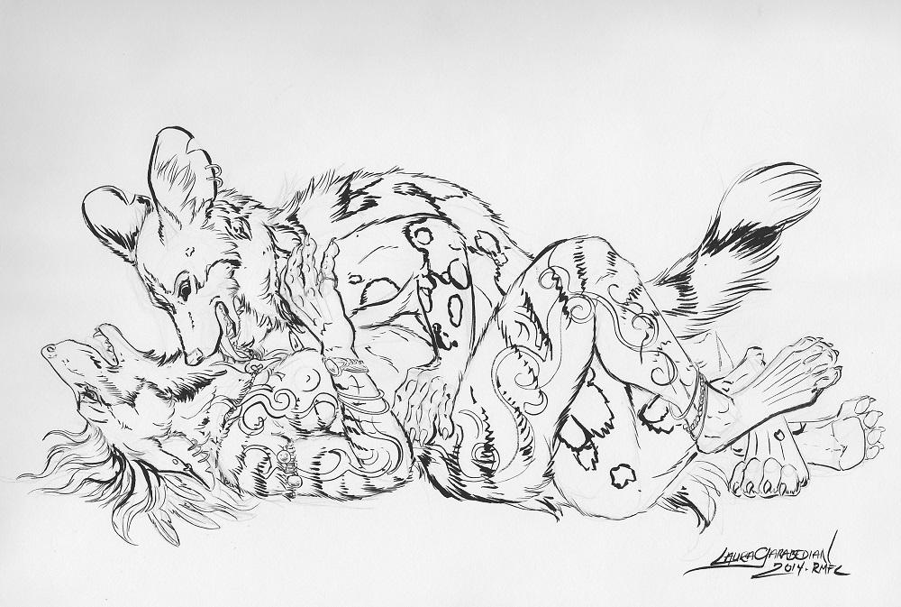 Sketchbook Sketch by Laura Garabedian
