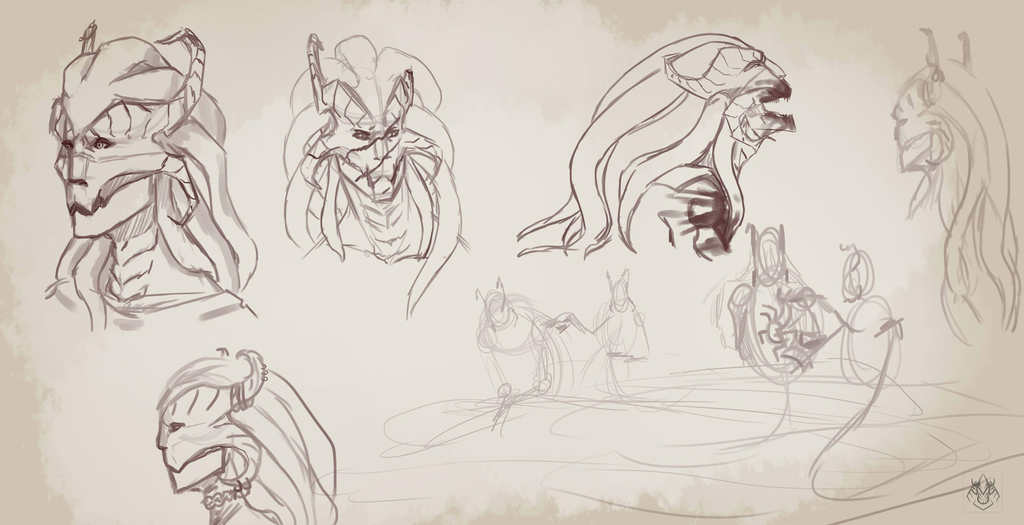 melusine sketches