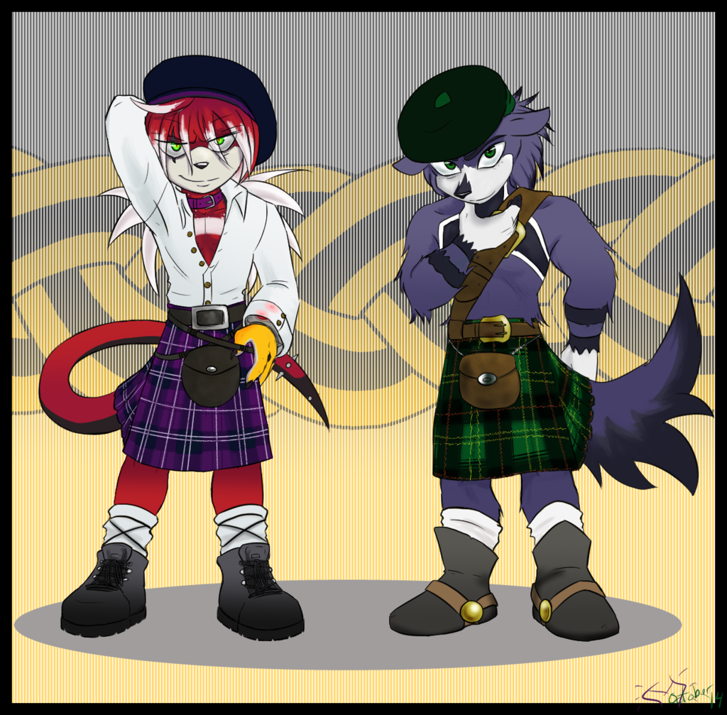 Most recent image: kilted anteater boys