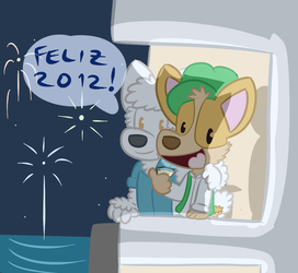 A Cosmin and an Aurel wish you a happy 2012!