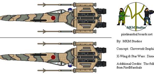 Japanese X-Wing Starfighter