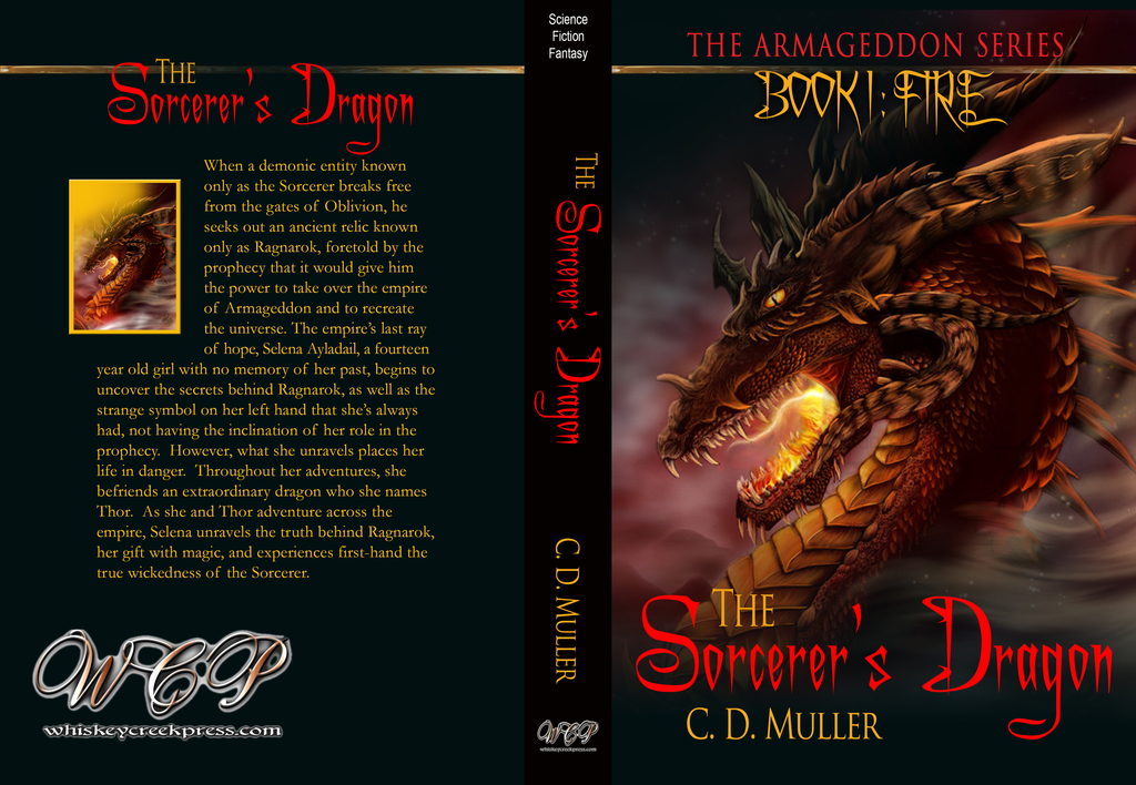 The Sorcerer's Dragon - Now Through Barnes & Noble!