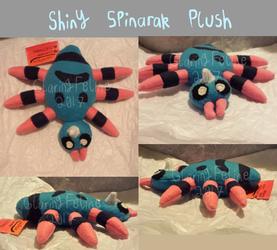 Shiny Spinarak Plush